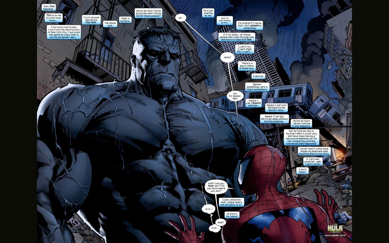 hulk and spider man wallpaper l