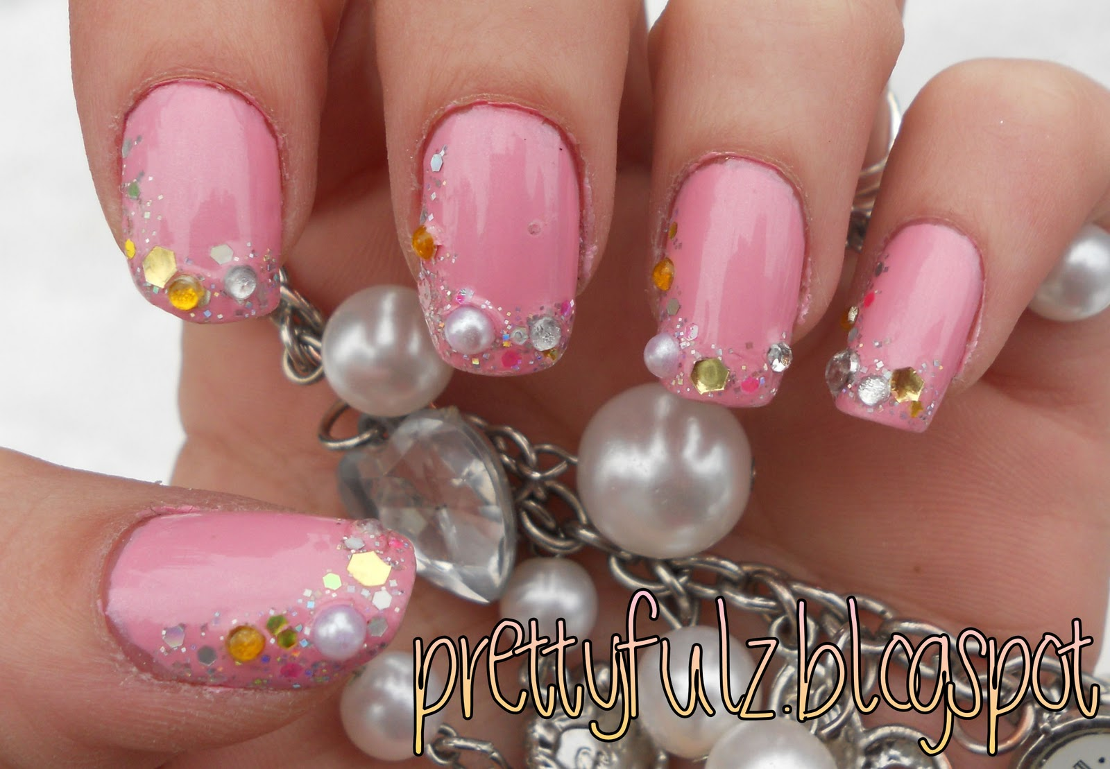 Prettyfulz: PINK DECO NAIL ART DESIGN | Japanese Inspired Nail Art ...