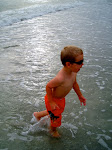 Cade at the beach