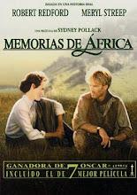 """""""Memorias de África"""""""