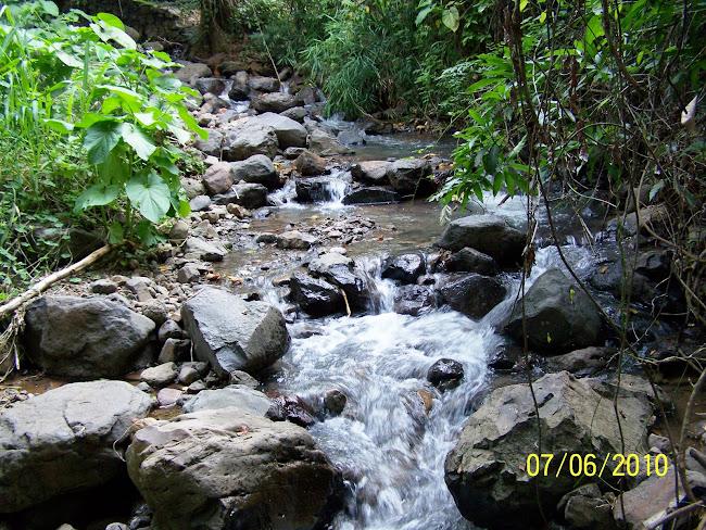 Quebrada Los Majanitos Cantón El Volcán de Delicias de Concepción.
