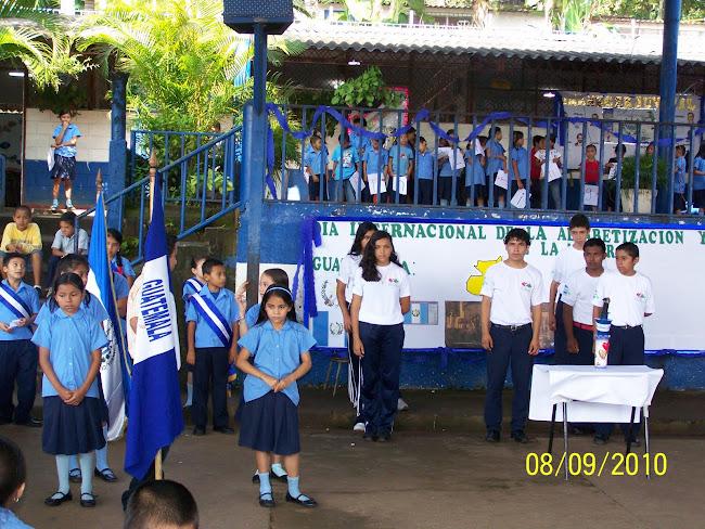 La Antorcha de la Paz esta en nuestro Centro Escolar