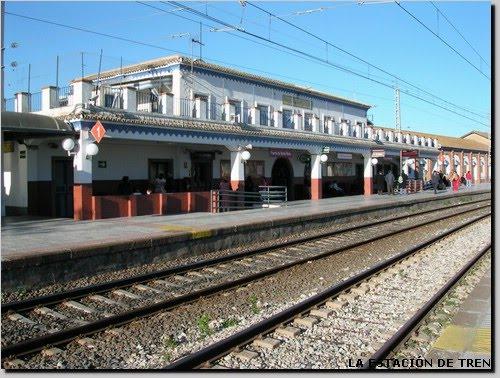 Club ferroviario jerezano tren del puerto de santa maria - Estacion de tren puerto de santa maria ...