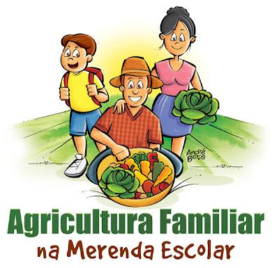 ilustração de agricultura familiar