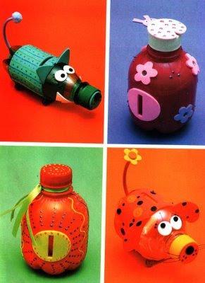 Manualidades infantiles reciclaje for Reciclar cosas para decorar