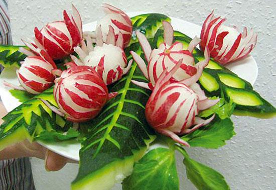 Decoraci n de platos con verduras paso a paso - Decoracion de platos ...