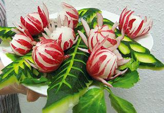 Decoraci n de platos con verduras paso a paso for Decoracion con verduras
