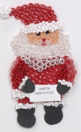 Manualidades navide as en filigrana 2010 for Coronas de navidad hechas a mano