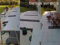 Dallage sur plots