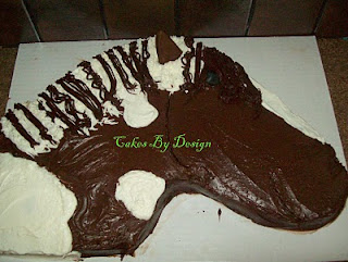 Cakes By Design: Horse Head Cake