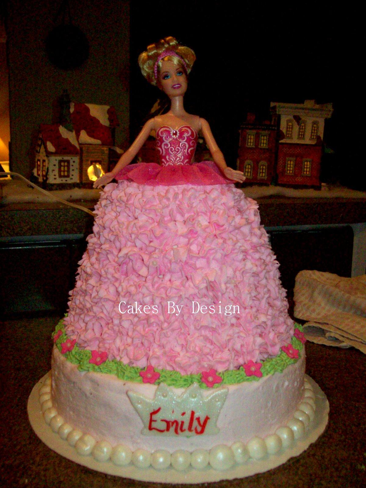 Cakes By Design: Barbie Princess Cake