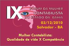 IX FÓRUM DA MULHER CONTABILISTA