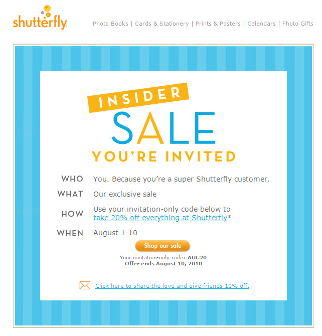 Email Marketing: Knowledge, Best Practices & Tips: Invitations In