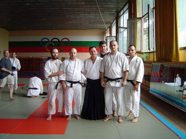 Cu Tissier sensei și un grup de prieteni (Ștefan Serafim, Sorin Despa, Mihai Vladu, George Stoian)