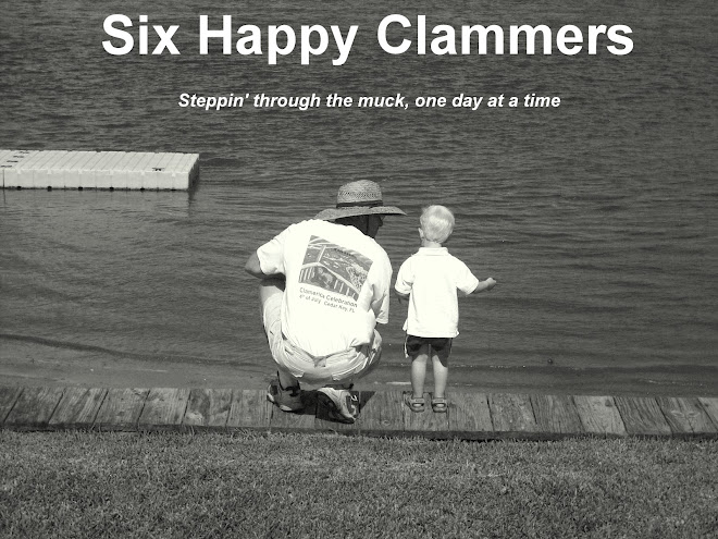 Six Happy Clammers