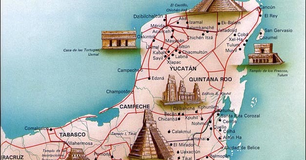 Diary of dreams la cultura maya for Cultura maya ubicacion