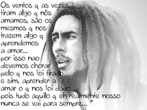 12 Frases de Bob Marley: Amor , Amizade e Vida - Frases Curtas