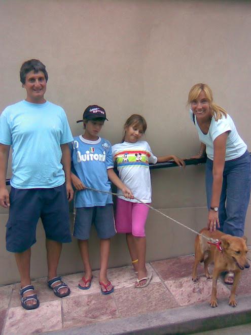 Sofia con su nueva familia