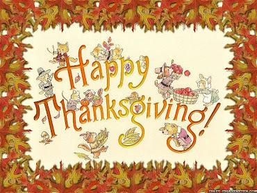 #9 Happy Thanksgiving Wallpaper