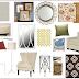 Colorful Living Room E-Design Board