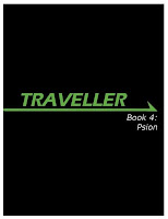 Cover of Mongoose Traveller Book 4: Psion - image lifted from Mongoose's website