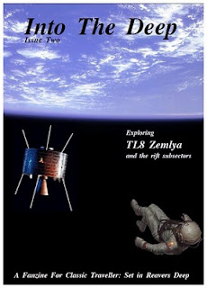 Cover of Issue 2 of 'Into the Deep' - June 2010