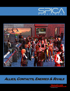 Cover of Allies, Contacts, Enemies and Rivals - image lifted from the Spica Publishing Site