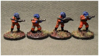 Kurgan Infantry from Rebel Minis painted up as Kiang