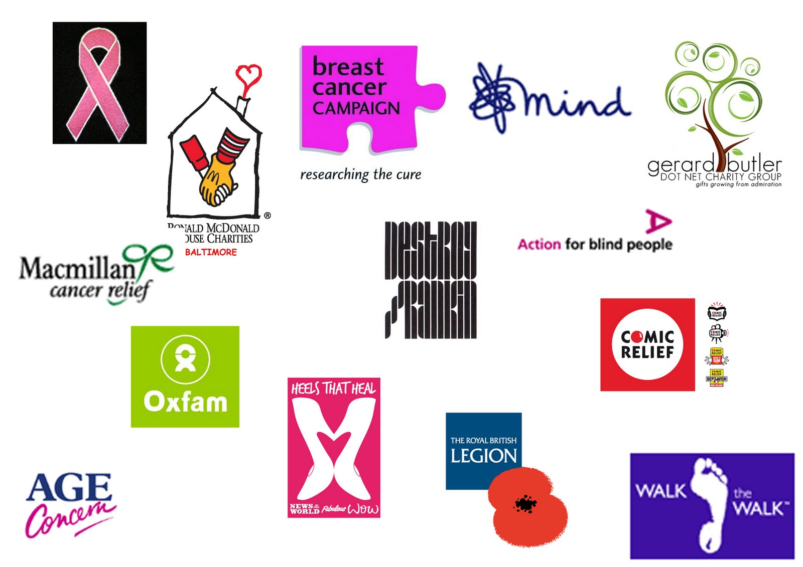 Charity Campaign Logos