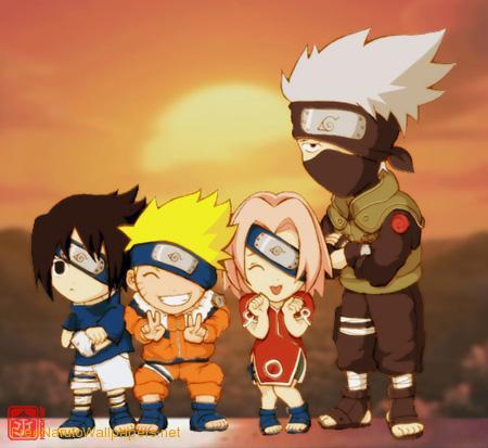 Naruto on line.