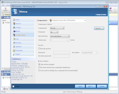 KLS Backup 2008 Professional baixebr.org Faça backup dos seus arquivos pela rede ou via servidor FTP com KLS Backup