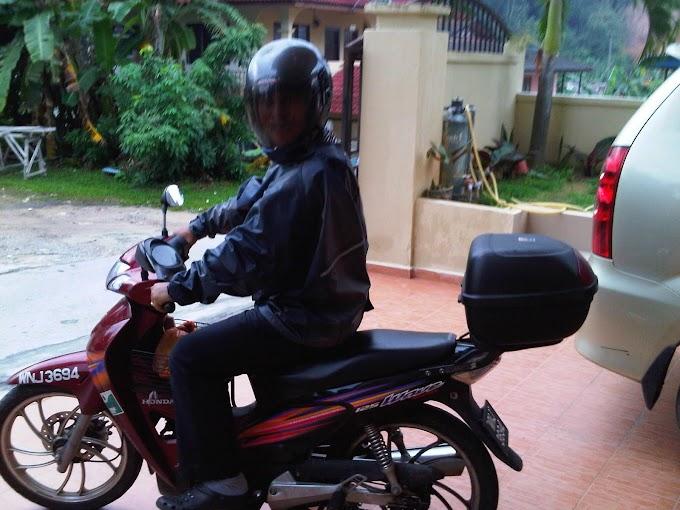 Luahan rasa seorang penunggang motosikal