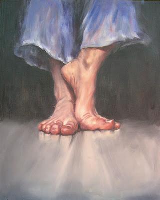 Dancer painting rita foster
