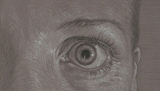 eyeball drawing rita foster