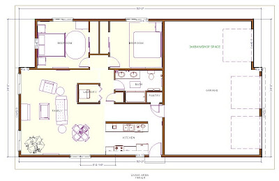 Home with casitas plans