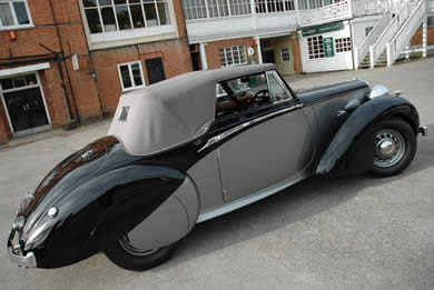 Churchill's Daimler DB18 Drophead Coupé