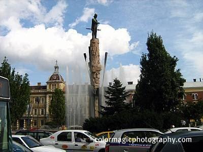Statue of Avram Iancu in Cluj Napoca