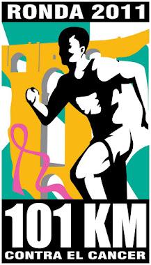 Logotipo 101 km Contra el Cáncer 2011