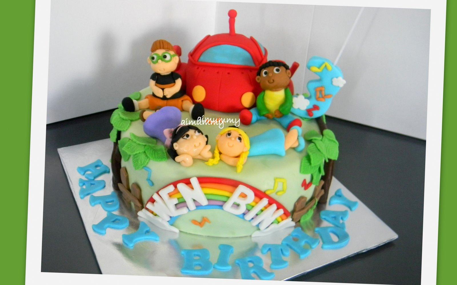 Aimummy Little Einstein Cake For Wen Bin