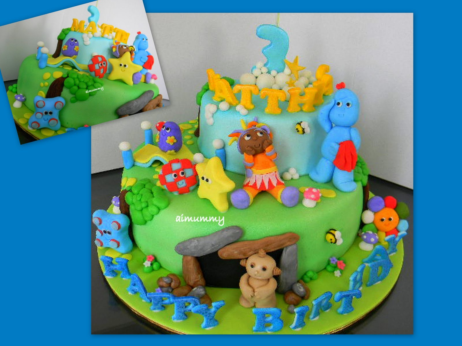 Aimummy in the night garden for In the night garden cakes designs