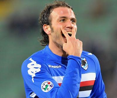 Calcio, Serie A, anticipi, Pazzini, Sampdoria, Inter