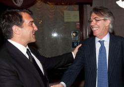 Moratti e Laporta hanno raggiunto l'accordo