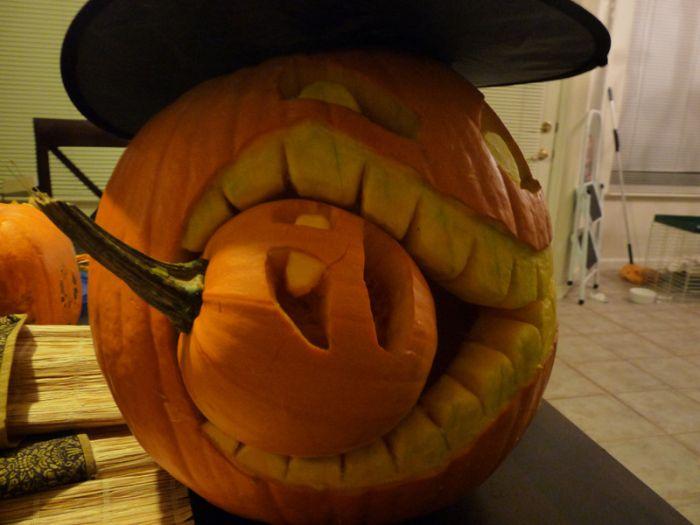 Halloween 2010 comment creuser et d corer votre - Comment decorer sa maison pour halloween ...