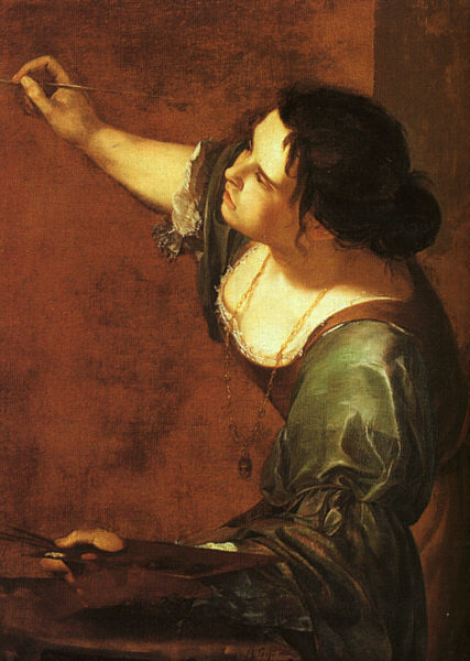 Artemisia Gentileschi, Self-Portrait as the Allegory of Painting, 1630s