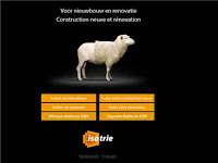Isotrie asks visitors to tell what type of users they are...
