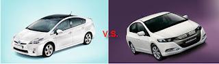 Toyota Prius vs. Honda Insight