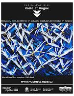 Publicité, Centre d'artistes Vaste et Vague publiée en juin 2010, Journal Culturel Gaffici,