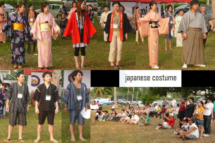 Fashion show by the Japanese