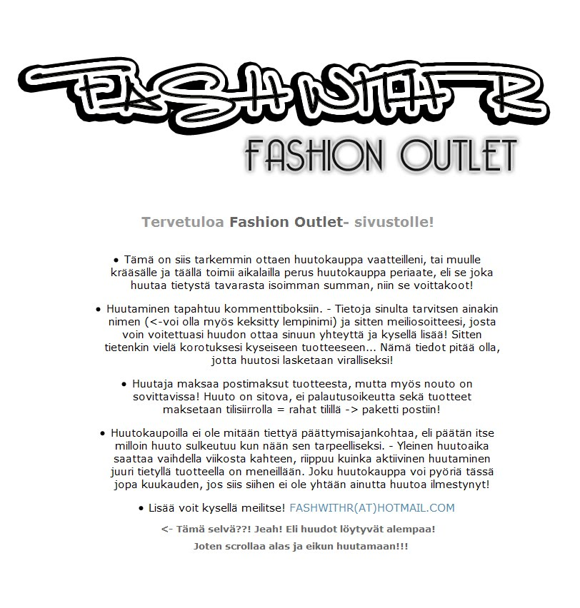 FASH WITH R - FASHION OUTLET