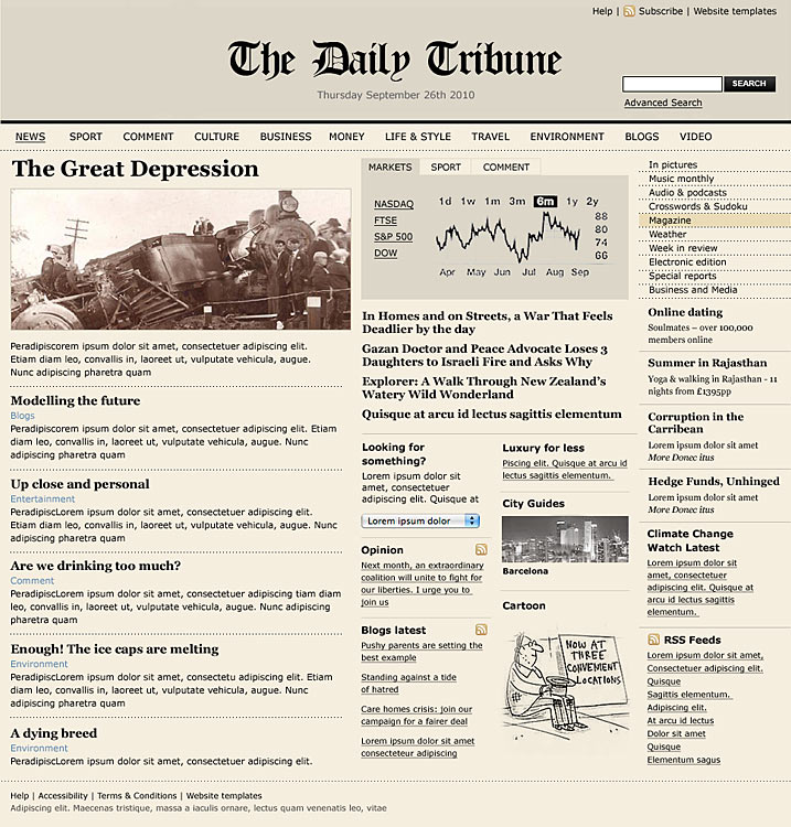 Old Newspaper Template For Word Hcsclub